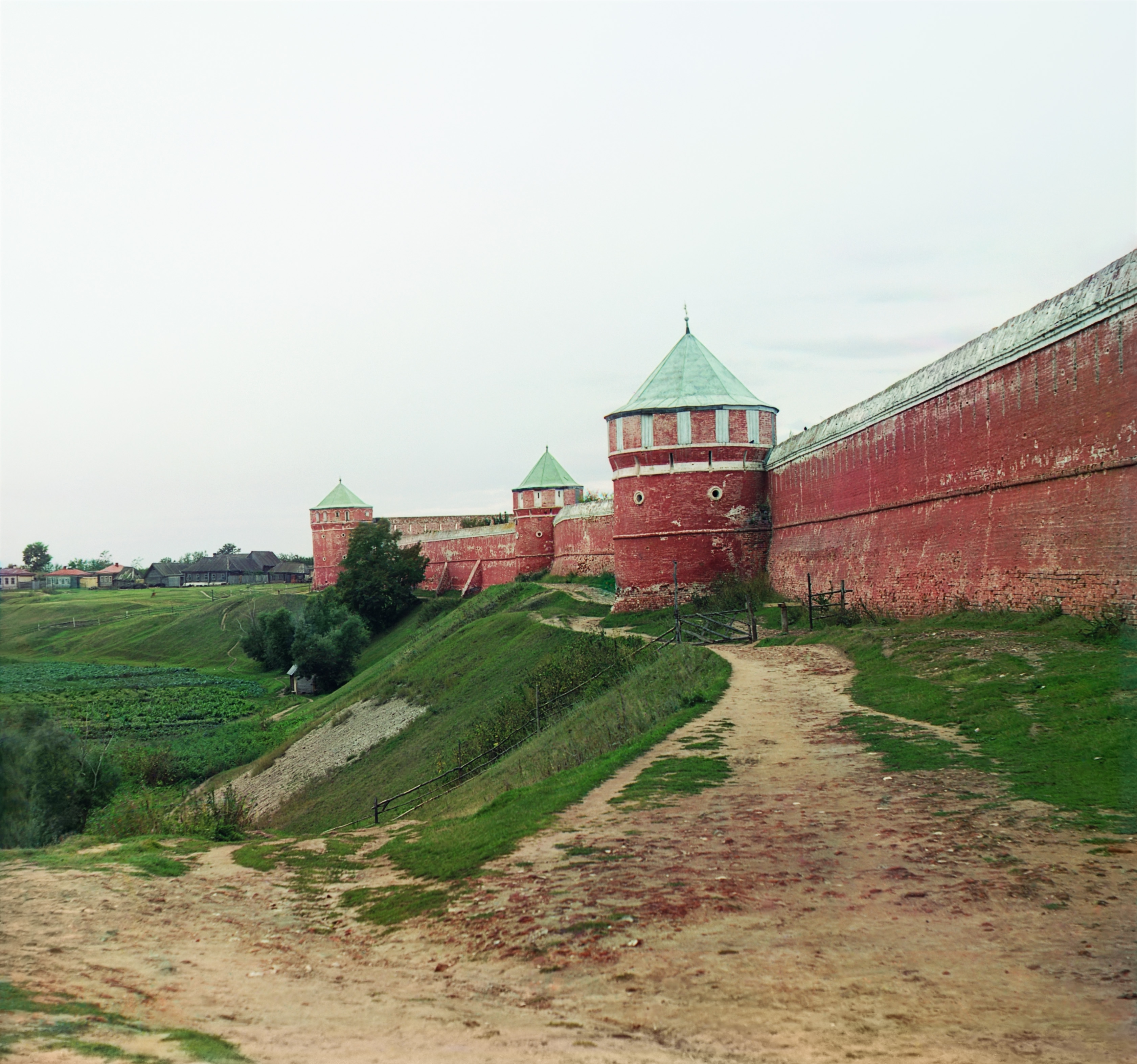 Спасо-Ефимиевский монастырь. Западная стена