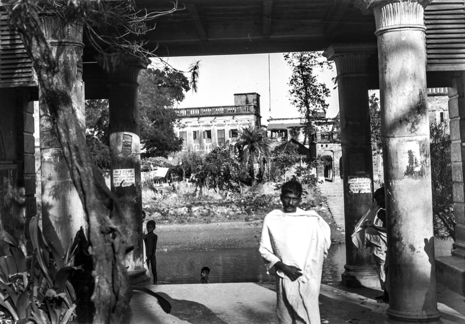 1291. Дома семьи Тагора в районе браминов в Калькутте