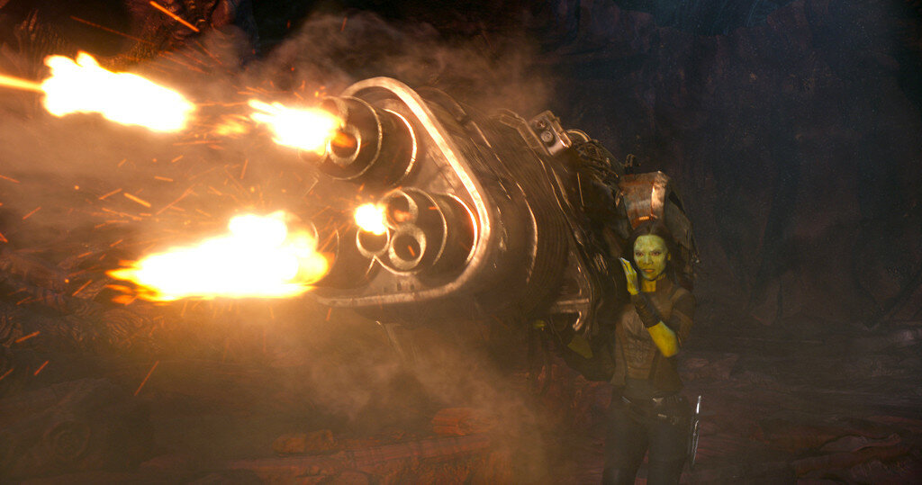 Guardians Of The Galaxy Vol. 2Gamora (Zoe Saldana)Ph: Film Frame©Marvel Studios 2017