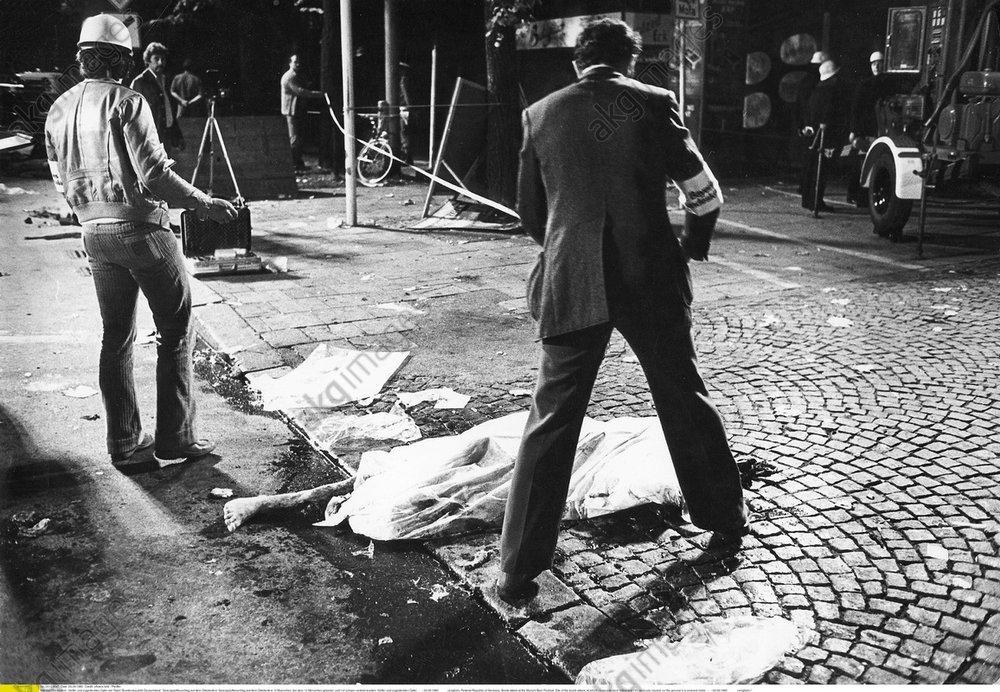 Oktoberfestattentat 1980, Einsatzkraefte -  -
