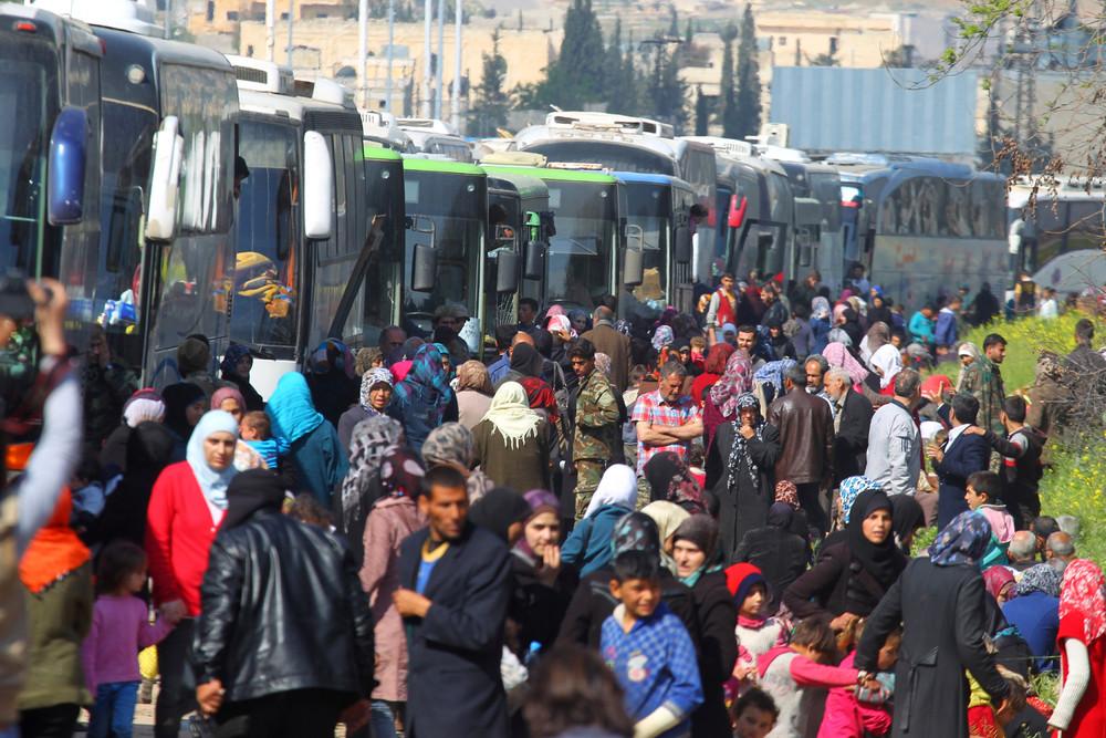 Фото, сделанные в Сирии в этом месяце