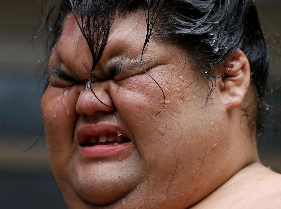 Тайный мир японских элитных борцов сумо