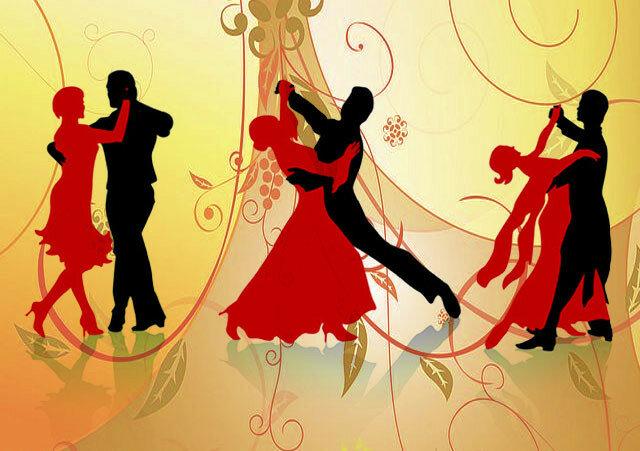 Раскраски открытки, открытка танцев