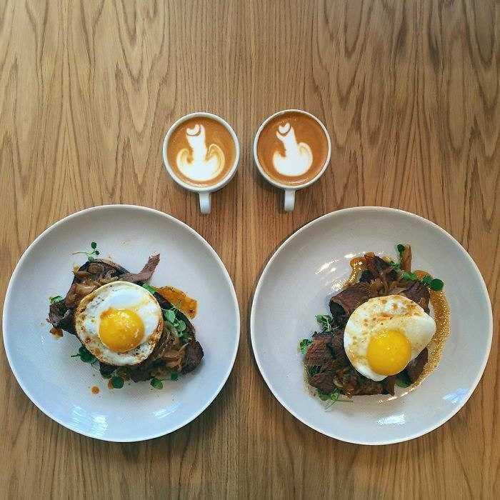 Парные арт-завтраки от Майкла Цее (Michael Zee)