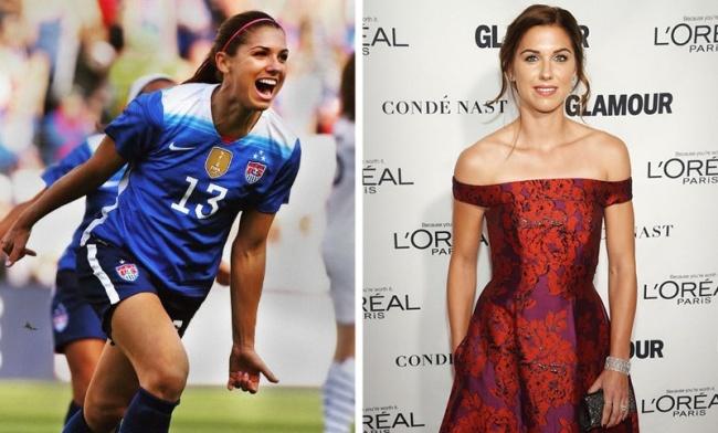 Александра Патрисия Морган— американская футболистка, нападающий команды «Орландо Прайд» ис