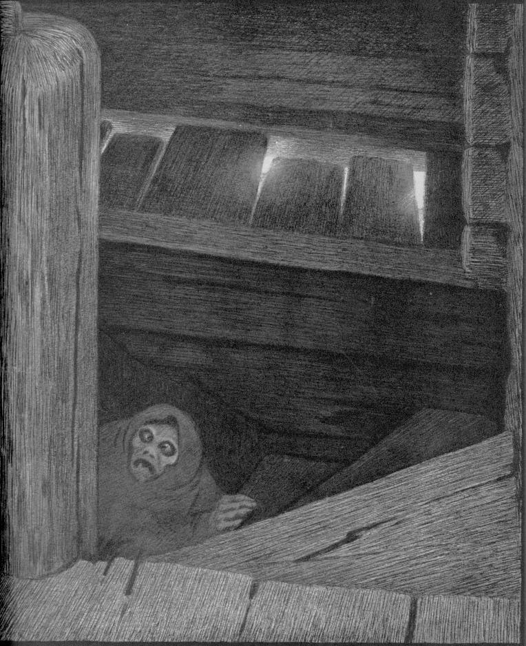 «Чума на ступенях», 1896. «С острова Рёст», 1890. «Морской тролль», 1887.
