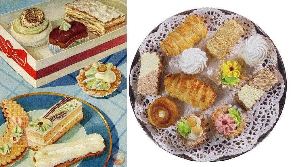 Кто из советских детей не мечтал по дороге со школы домой купить пирожное в магазине-кулинарии или у