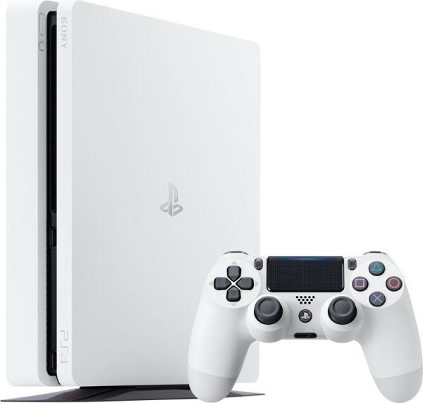 Сони будет выпускать белоснежную PS 4 Slim