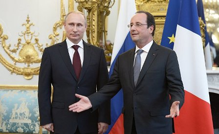 Олланд объявил, что Франция никогда непризнает аннексию Крыма Россией