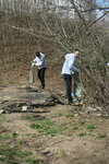 23 апреля Экоклуб Родник при Петропавловском храме г.Химки очистил пойму реки Химки от мусора и бытовых отходов, чью дальнейшую переработку обеспечила компания ЭкоГрупп