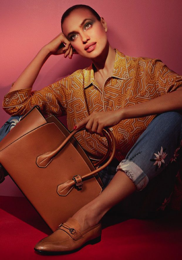 IRINA SHAYK & BALLY are SUPER For The SS17 Collection
