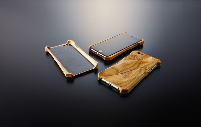 Wooden Engraved Acoustical iPhone Case (5 pics)