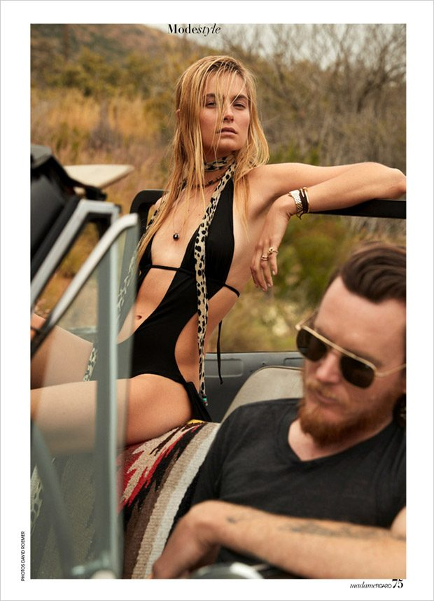 Bohemian Summer: Bridget Malcolm for Madame Figaro by David Roemer