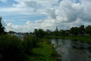 Река Тверца вТоржке
