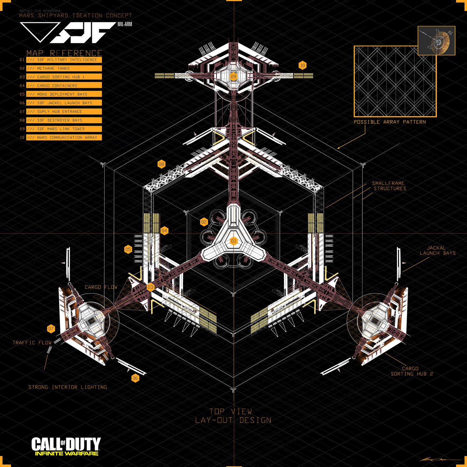 Call of Duty: Infinite Warfare Concept Art by Gustavo Mendonca