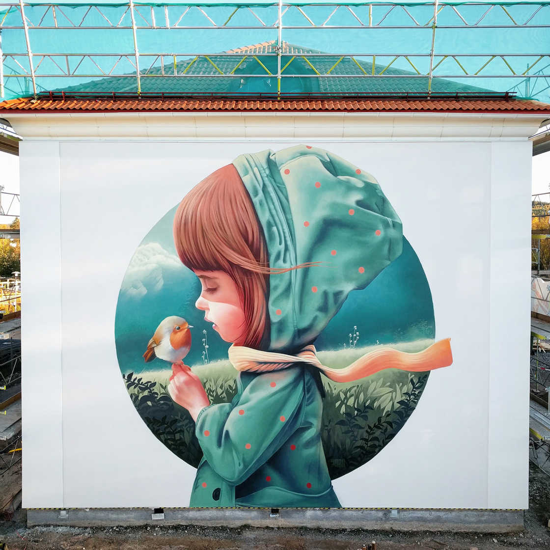 Kids and Colors – The street art by Yash One (14 pics)