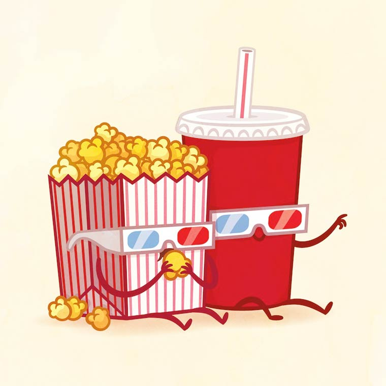 Best Friends - Les appetissantes illustrations culinaires de Philip Tseng