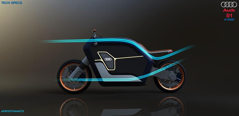 Концепт мотоцикла R1 e-Tron
