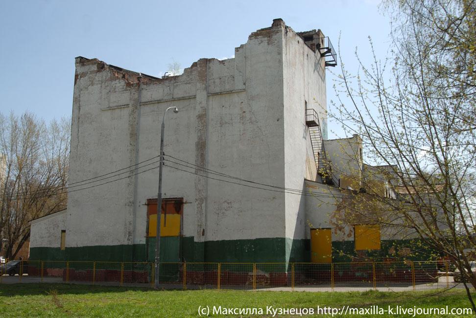 Сгоревшее ДК Локомотиворемонтного завода