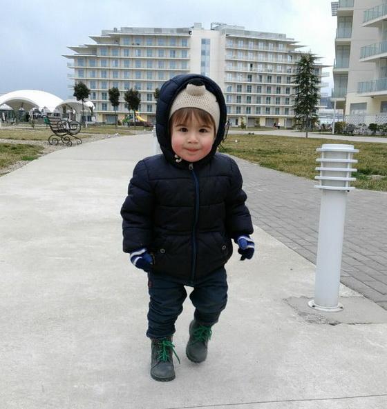 ребенок в сочи зимой