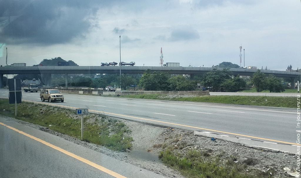 таиланд левостороннее движение
