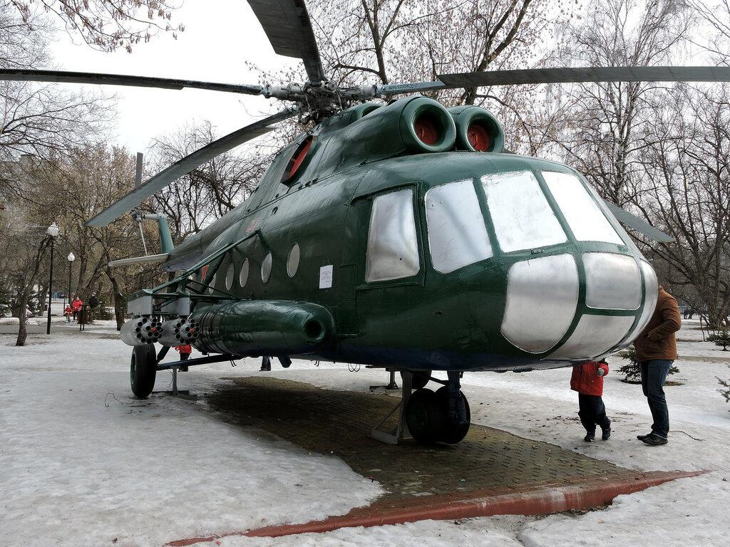 Вертолет Ми-8 и не только. В Москве.