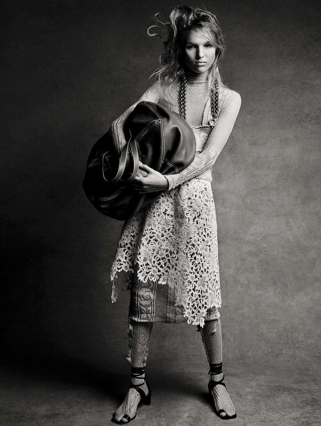 Новое поколение супермоделей / Jess PW by Patrick Demarchelier - Vogue Italia january 2017
