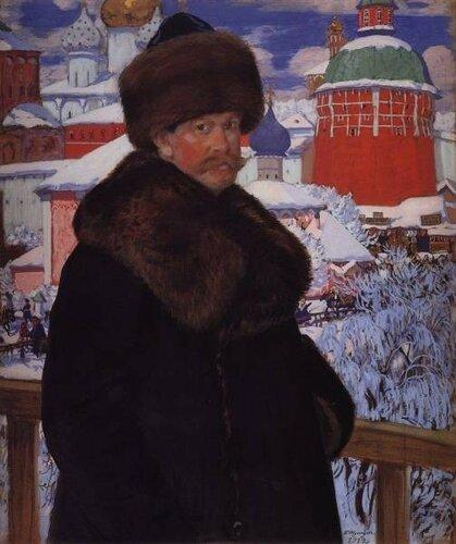 Борис Михайлович Кустодиев [родился 1878, Астрахань, — умер 26.5.1927, Ленинград], — известный русский живописец, график и театральный художник. Учился в петербургской АХ (1896—1903) у Ильи Репина.