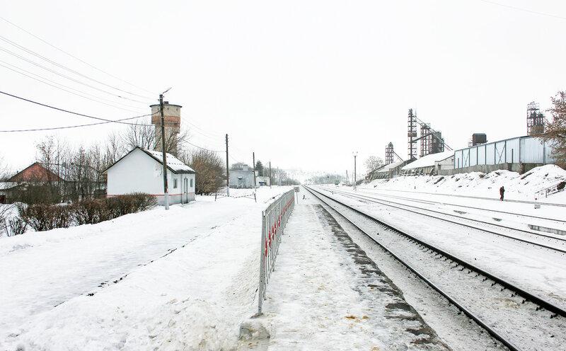 Станция Залегощь, вид на Верховье