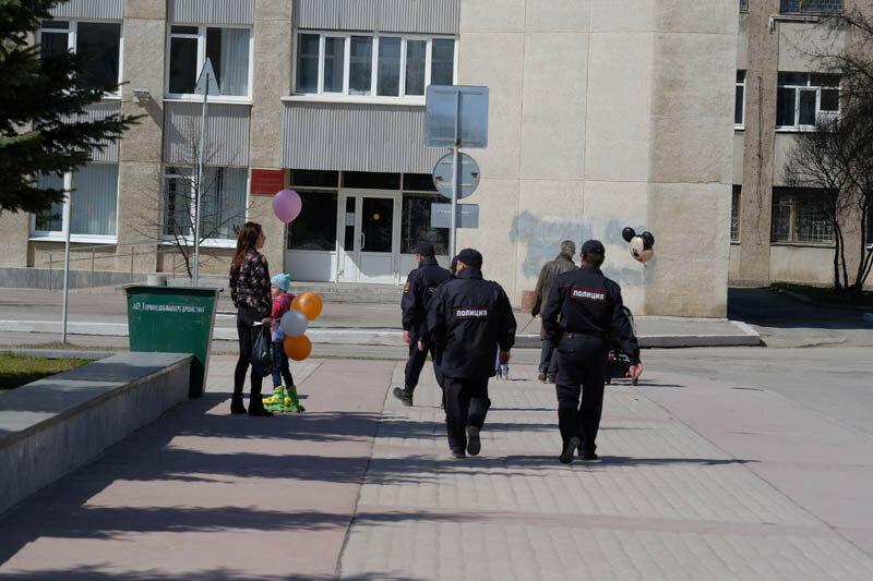 отряд полиции