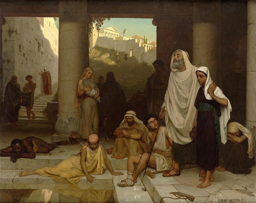 1879 Слепой в Силоамской купальне (The blind man at the Pool of Siloam)