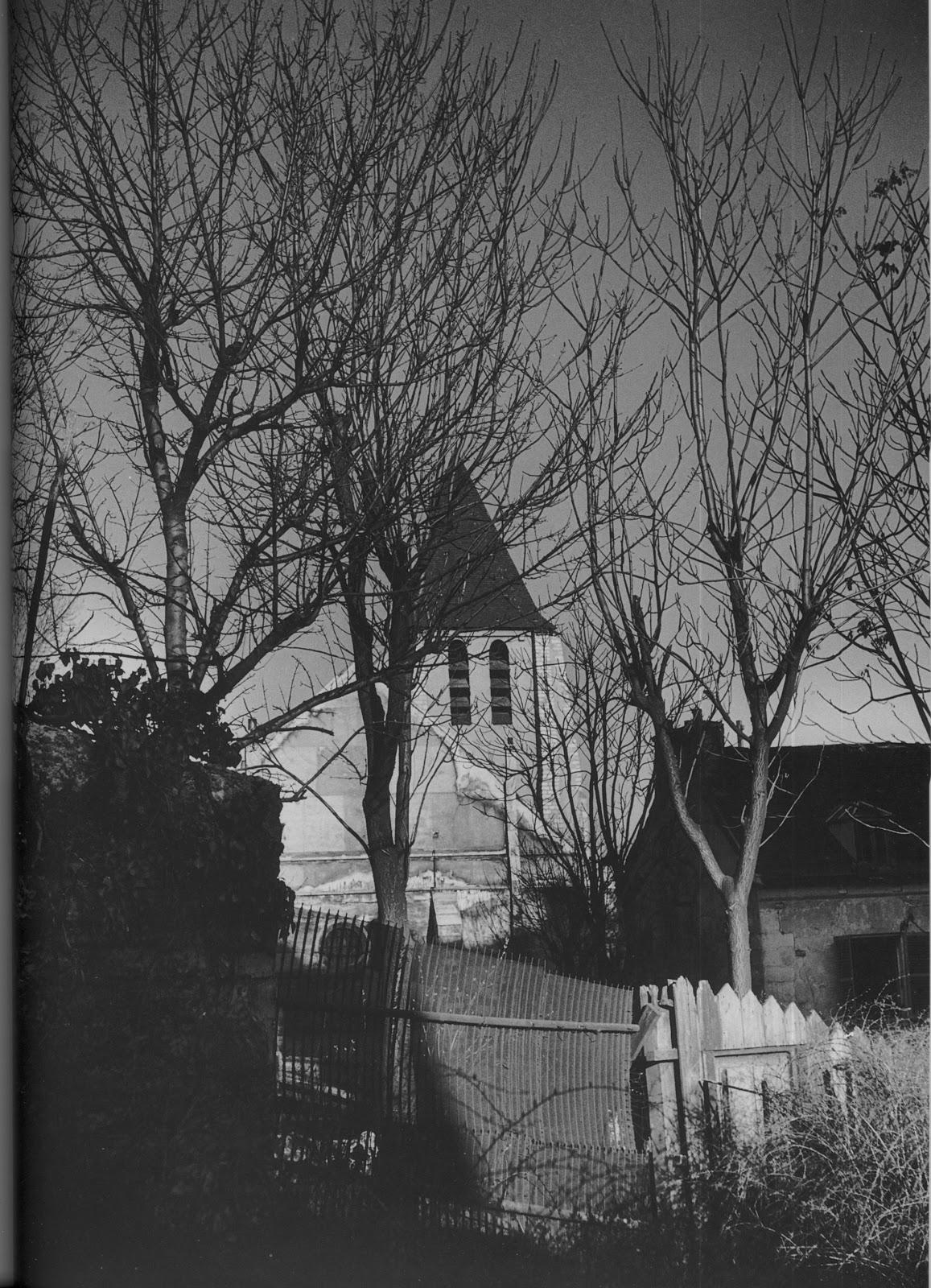 1948. Менильмонтан-Бельвиль. Церковь Сен Жермен де Шарон