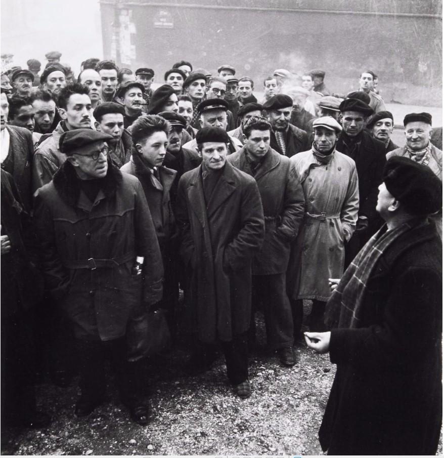 1957. Забастовка в Гарде