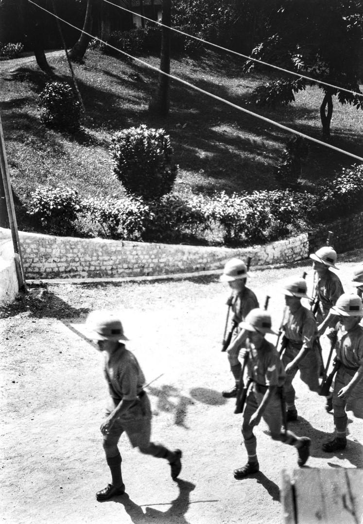 1126. Британские солдаты в Порт-Блэр