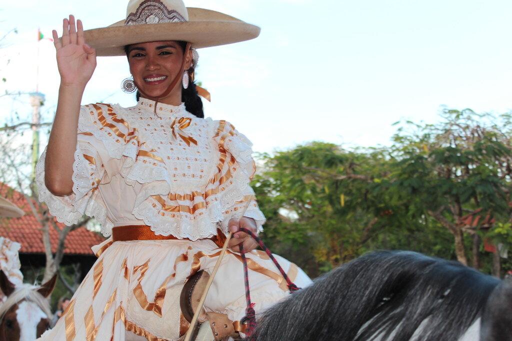 Мексиканская наездница