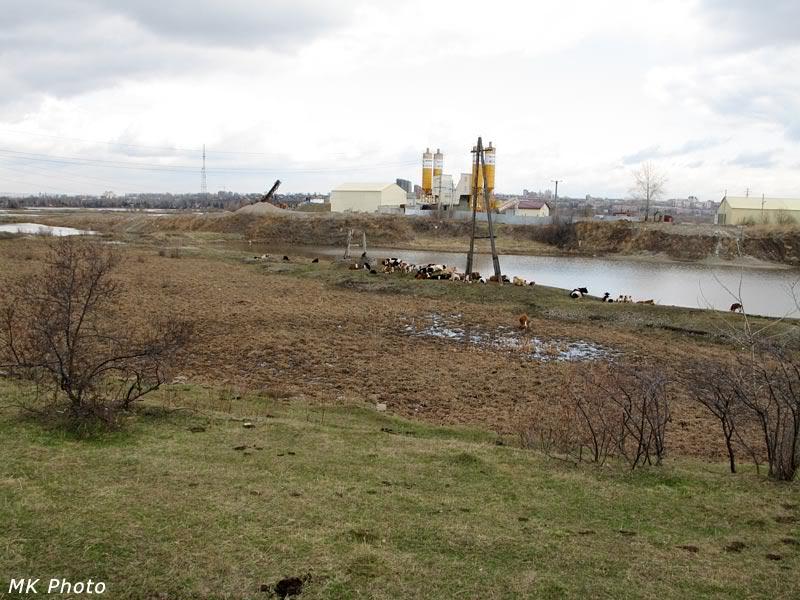 На правом берегу Ангары в Иркутске