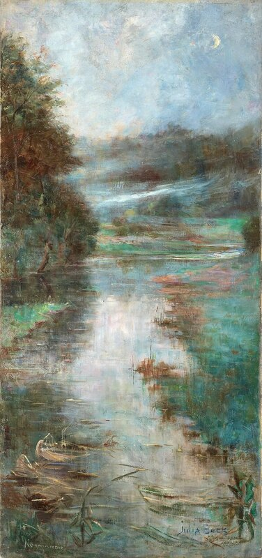 Canvas 91 x 43 cm.