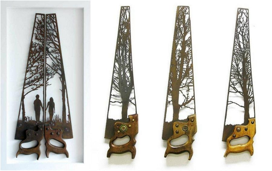 Скульптуры из металлолома Дэна Роулингса