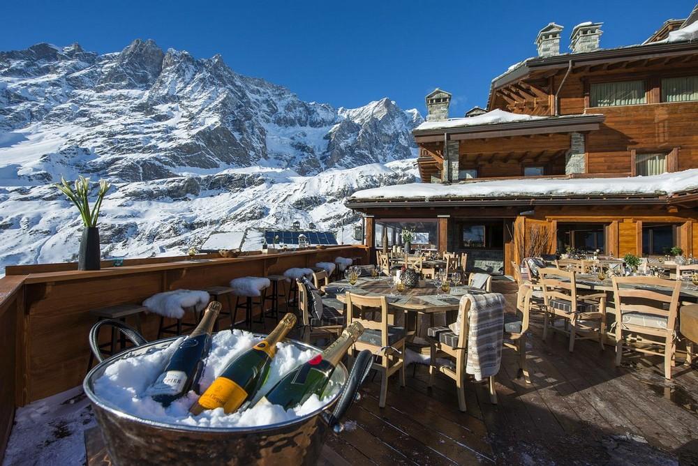 Отель в горах Италии