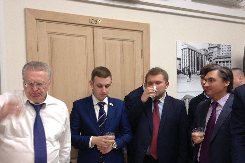 Банкет в Госдуме по случаю победы Трампа на выборах
