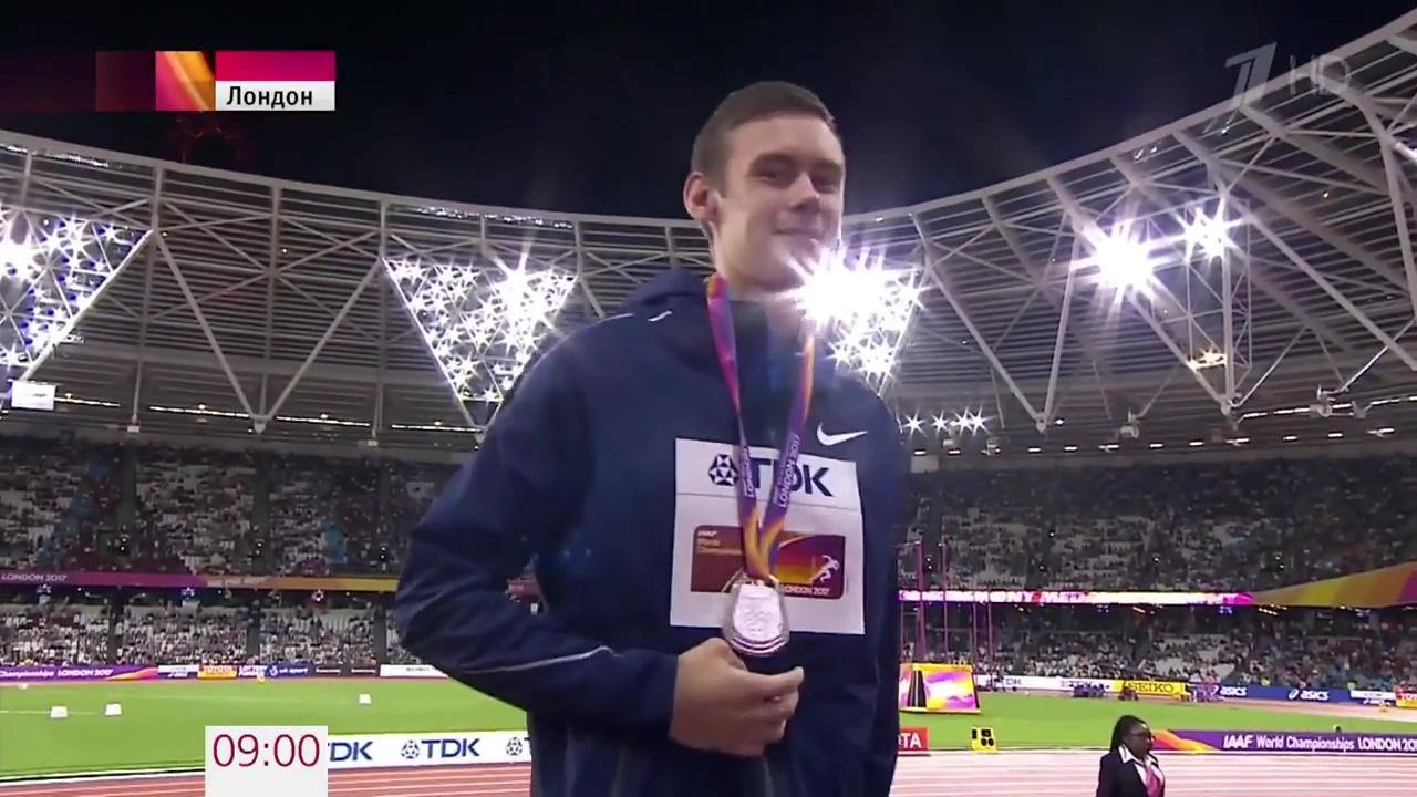 В последний день Чемпионата мира в Лондоне российские легкоатлеты завоевали еще одну медаль