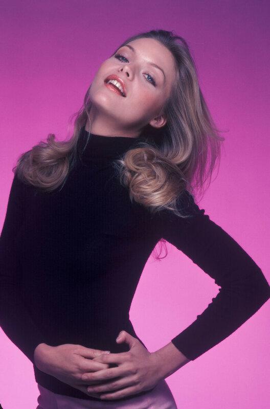 Michelle Pfeiffer photographed by Jim Britt, 1979