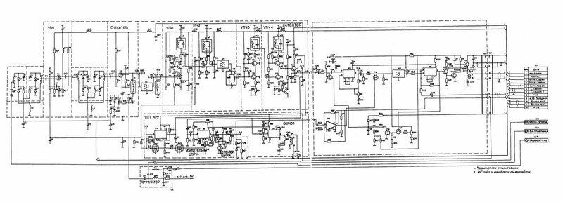 Схема приёмника радиостанции Баклан-20