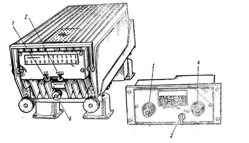 Общий вид радиостанции. Рис. 2.