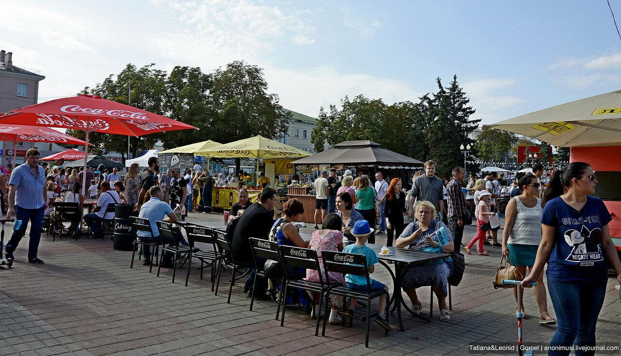 II гастрофестиваль Городская еда в Гомеле