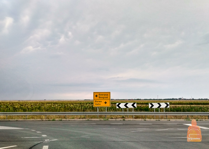 Дорога в Белград