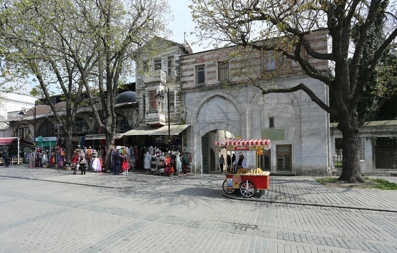 Istanbul. The Area Of The Hippodrome (At Meydanı)