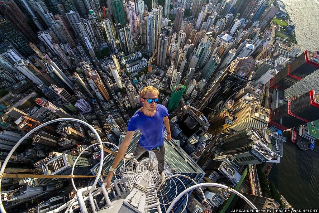 15. Сверху все остальные небоскребы кажутся крошечными.