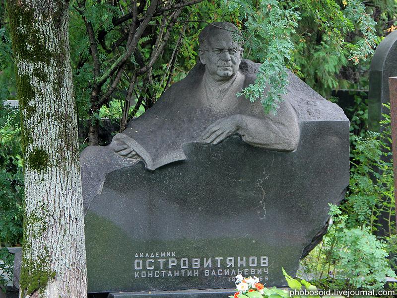 1. Академик Островитянов Константин Васильевич — советский экономист и общественный деятель.