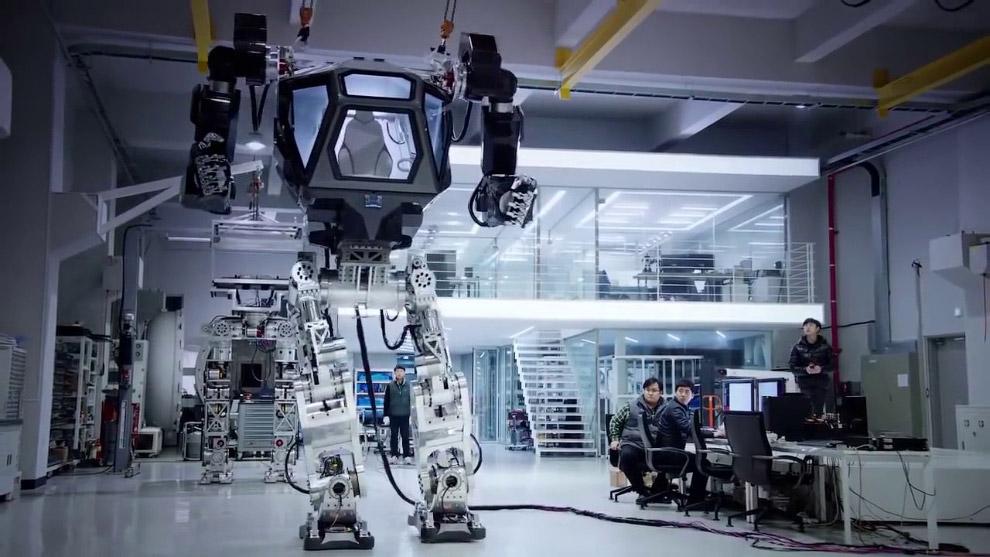 12. Боевой робот из «Аватара».